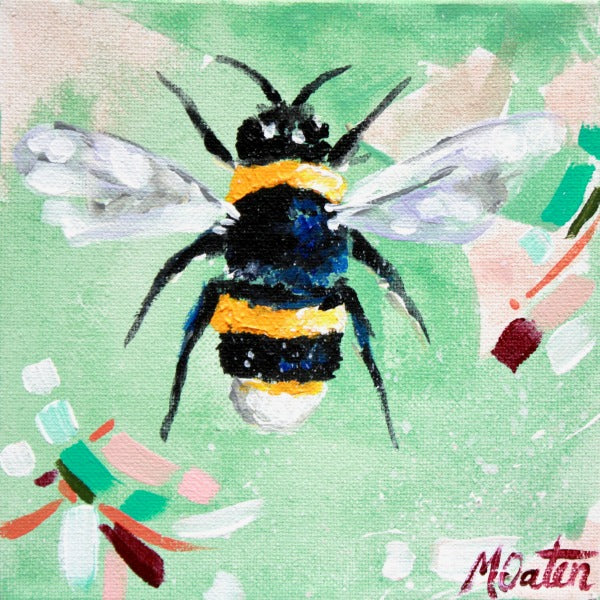 Honey Please - Fine Art Print - Prophetic Christian Fine Art by Mindi Oaten Art