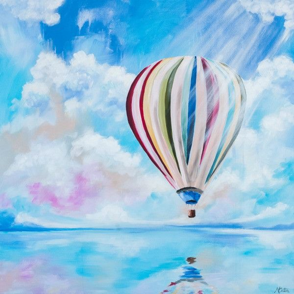 Hope Rising - Fine Art Print - Prophetic Christian Fine Art by Mindi Oaten Art