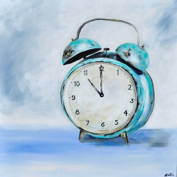 It's Time - Fine Art Print - Prophetic Christian Fine Art by Mindi Oaten Art