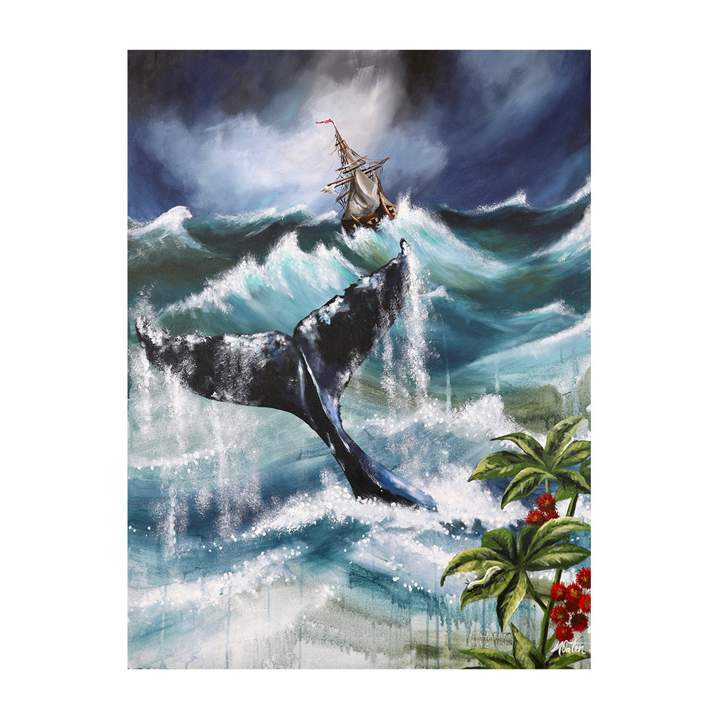 Jonah | Our Second Chance - Prophetic Christian Fine Art by Mindi Oaten Art