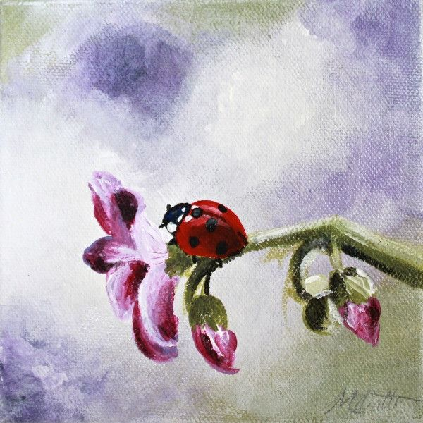 Ladybug | Day 24 - Fine Art Print - Prophetic Christian Fine Art by Mindi Oaten Art
