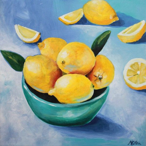 Lemony Fresh - Fine Art Print - Prophetic Christian Fine Art by Mindi Oaten Art