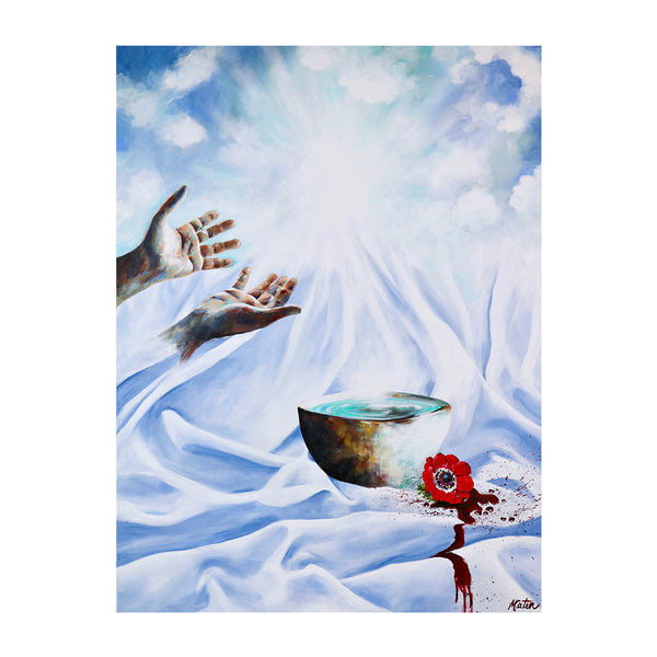 Leviticus | Our Atonement - Prophetic Christian Fine Art by Mindi Oaten Art