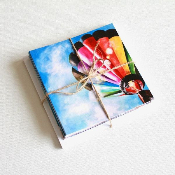 'Lift Off | reviveTX' Assorted Note Cards - Set of 13 - Mindi Oaten Art