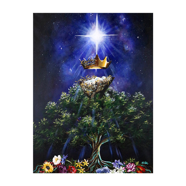 Matthew | Messiah the King: Promise Fulfilled - Prophetic Christian Fine Art by Mindi Oaten Art