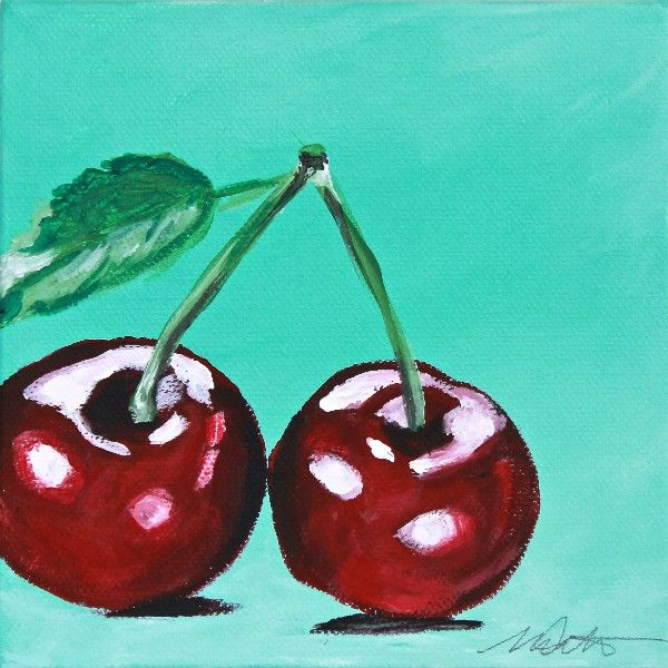 Cherries | Day 11 - Fine Art Print - Prophetic Christian Fine Art by Mindi Oaten Art