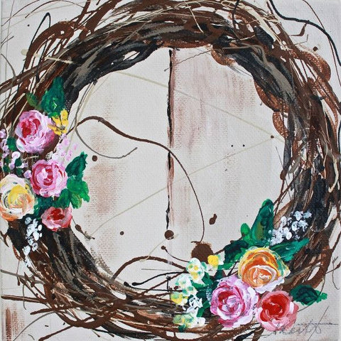 Wreath | Day 13 - Fine Art Print - Prophetic Christian Fine Art by Mindi Oaten Art