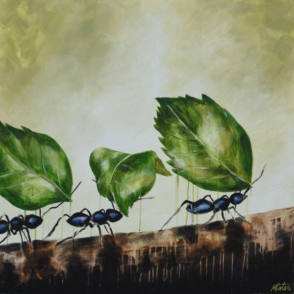 Marching On - Fine Art Print - from $20.00 - Mindi Oaten Art
