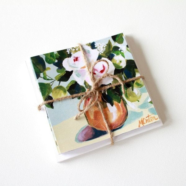 'On the Soft Side' Assorted Note Cards - Set of 12 - Mindi Oaten Art