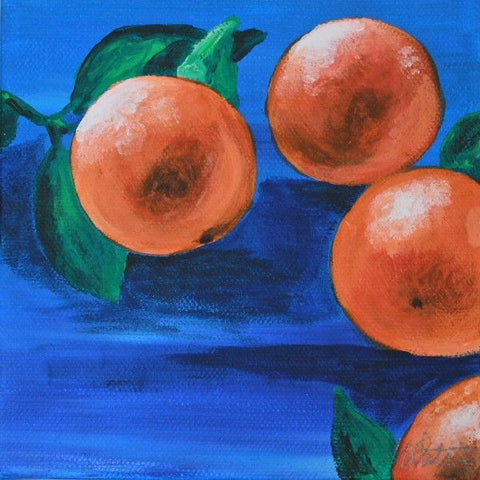 Oranges | Day 25 - Fine Art Print - Prophetic Christian Fine Art by Mindi Oaten Art
