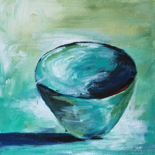Bowl | Day 3 - Fine Art Print - Prophetic Christian Fine Art by Mindi Oaten Art