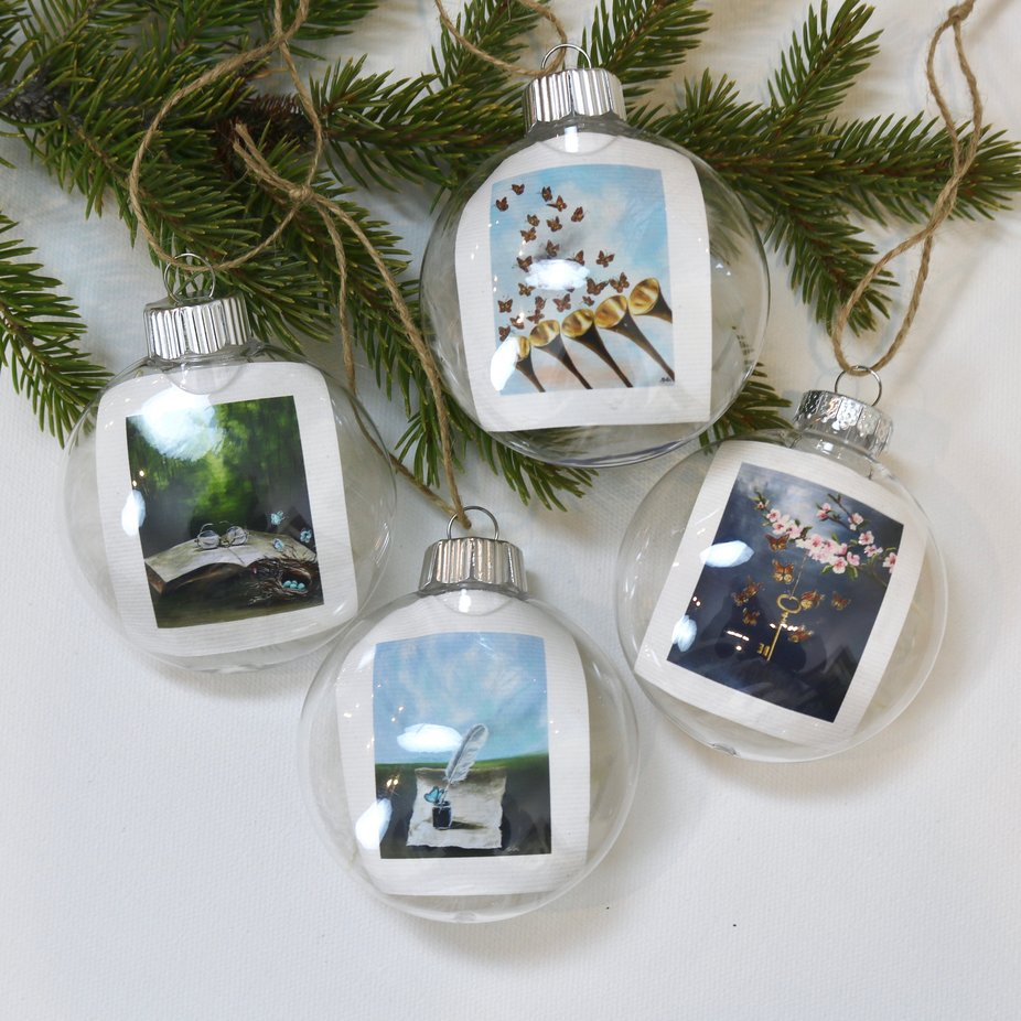 """Sight, Sound & Revelation"" - ornament 
