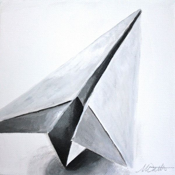 Paper Airplane | Day 17 - Fine Art Print - Prophetic Christian Fine Art by Mindi Oaten Art