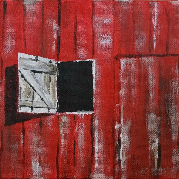 Barn Window | Day 20 - Fine Art Print - from $20 - Mindi Oaten Art