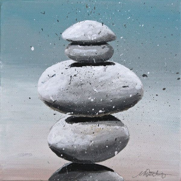 Rocks | Day 12 - Fine Art Print - Prophetic Christian Fine Art by Mindi Oaten Art