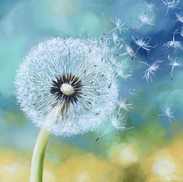 Seeds in the Wind - Fine Art Print - Prophetic Christian Fine Art by Mindi Oaten Art