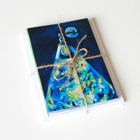 'Light in the Dark | reviveOH' Assorted Note Cards - Set of 12 - Mindi Oaten Art