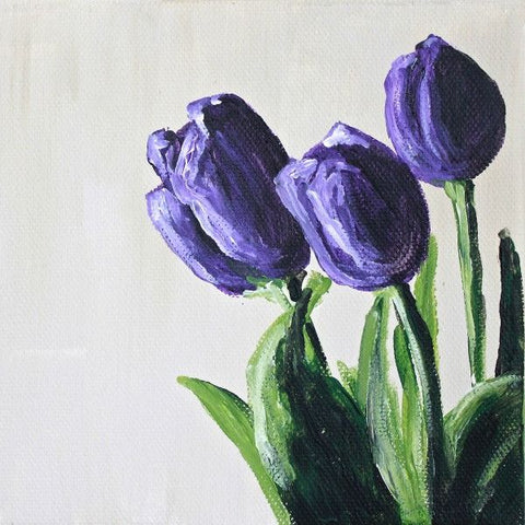 Tulips | Day 5 - Fine Art Print - from $20 - Mindi Oaten Art
