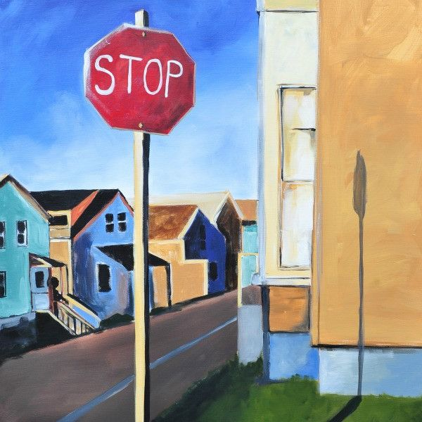 Stop to Listen - Fine Art Print - Prophetic Christian Fine Art by Mindi Oaten Art