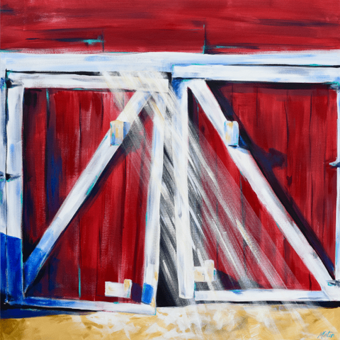 Open the Storehouse - Fine Art Print - from $20.00 , Fine Art Print - Mindi Oaten Art, Mindi Oaten Art