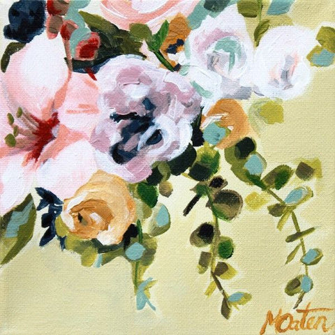 Subtle Beauty Floral - Fine Art Print - Prophetic Christian Fine Art by Mindi Oaten Art