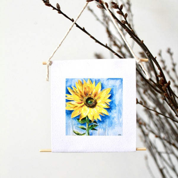 """Sunflower"" - mini collectible - Prophetic Christian Fine Art by Mindi Oaten Art"
