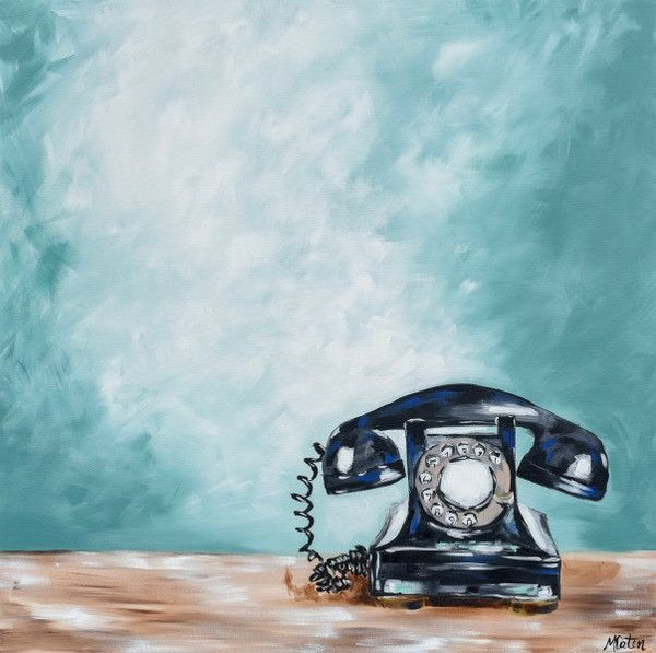 The Call - Fine Art Print - Prophetic Christian Fine Art by Mindi Oaten Art