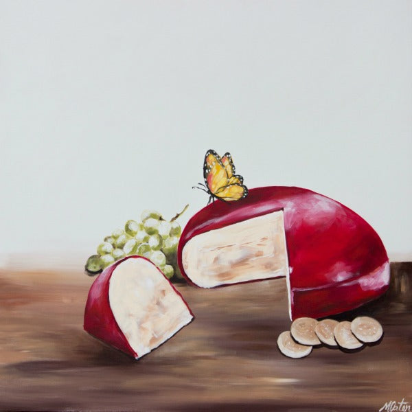 The Cheese & The Butterfly - Fine Art Print - from $20.00