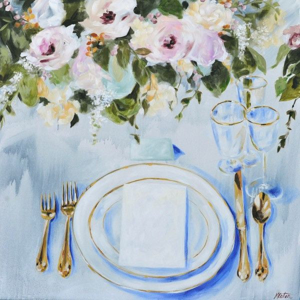 The Invitation - Fine Art Print - Prophetic Christian Fine Art by Mindi Oaten Art