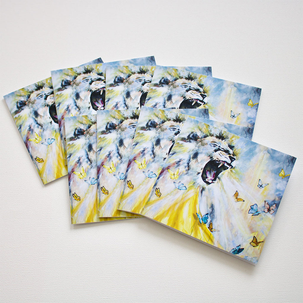 """The Roar"" Note Cards - Set of 8"