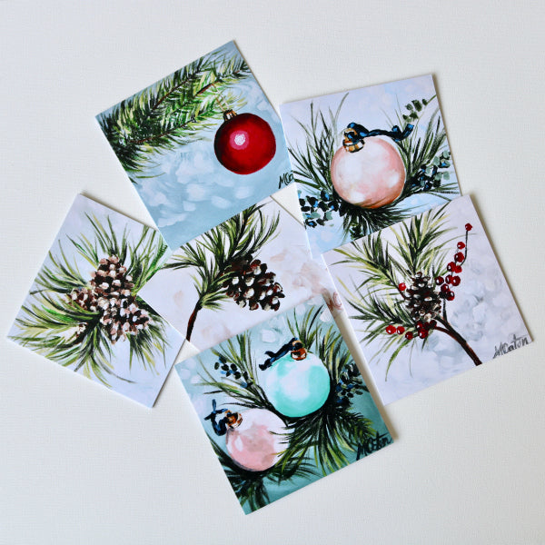 """Tis the Season"" Assorted Note Cards - Set of 12 - Prophetic Christian Fine Art by Mindi Oaten Art"