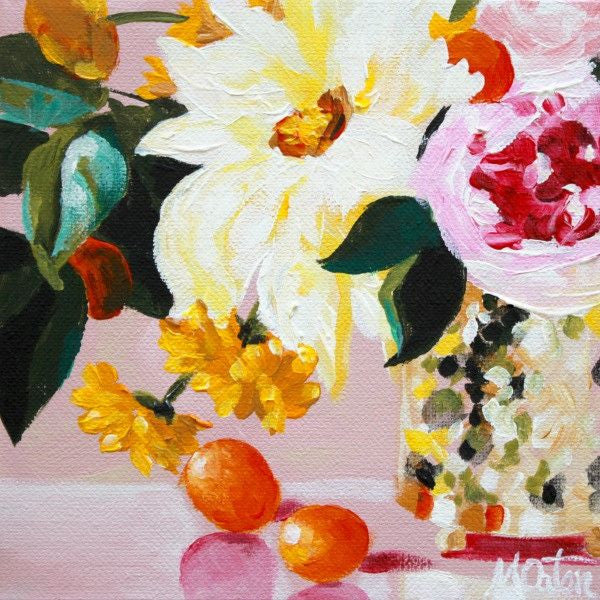 Citrus & Pink - Fine Art Print - Prophetic Christian Fine Art by Mindi Oaten Art