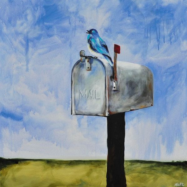 You've Got Mail - Fine Art Print - Prophetic Christian Fine Art by Mindi Oaten Art