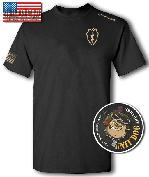 25th INFANTRY DIVISION - UNITDOG 1776 - Short-Sleeve Unisex T-Shirt