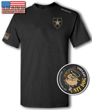 2nd INFANTRY DIVISION - UNITDOG 1776 - Short-Sleeve Unisex T-Shirt