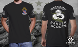 1BN • 327th INF - ABOVE THE REST. • UNITDOG 1776 - Short-Sleeve T-Shirt