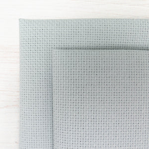 Light Pewter Cross Stitch Fabric (18 ct)