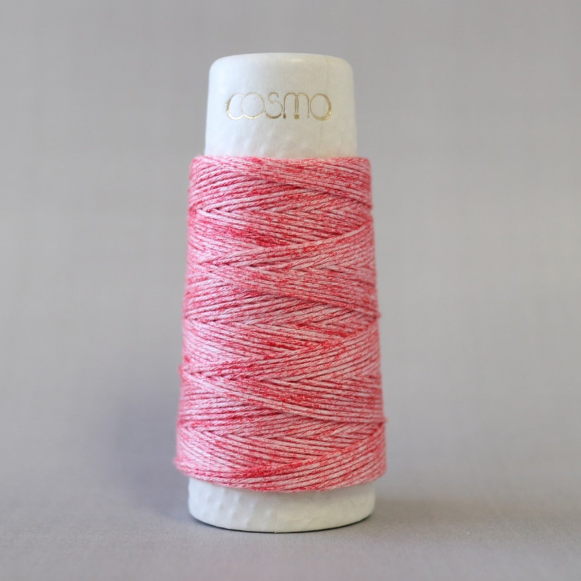 COSMO Hidamari Sashiko Thread - Strawberry Milk (#201) Sashiko - Snuggly Monkey