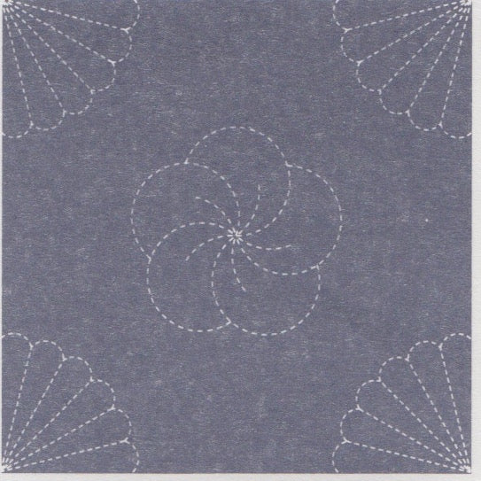 Fan Sashiko Embroidery Sampler Sashiko - Snuggly Monkey