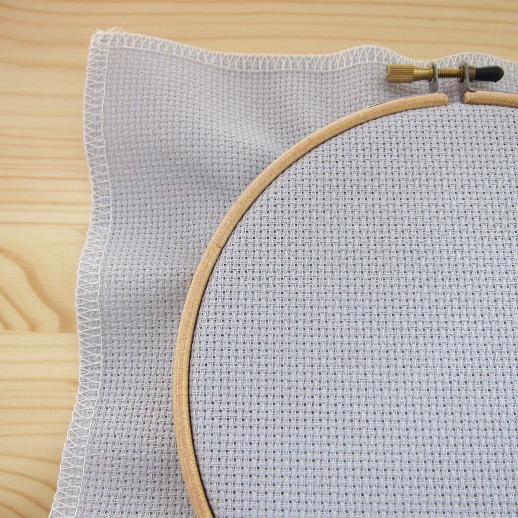 Touch of Gray Aida Cross Stitch Fabric