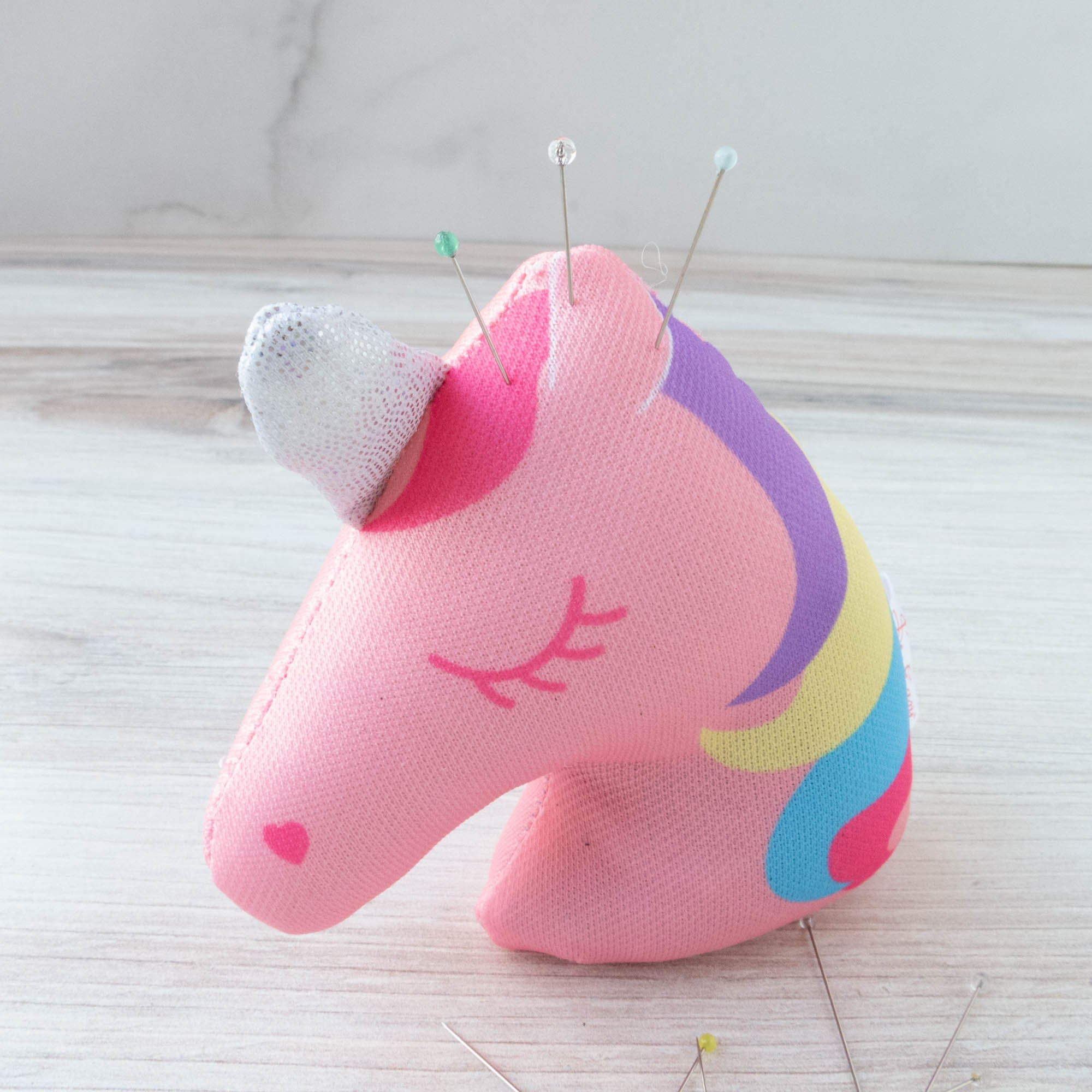 Cute Unicorn Pincushion Pincushion - Snuggly Monkey