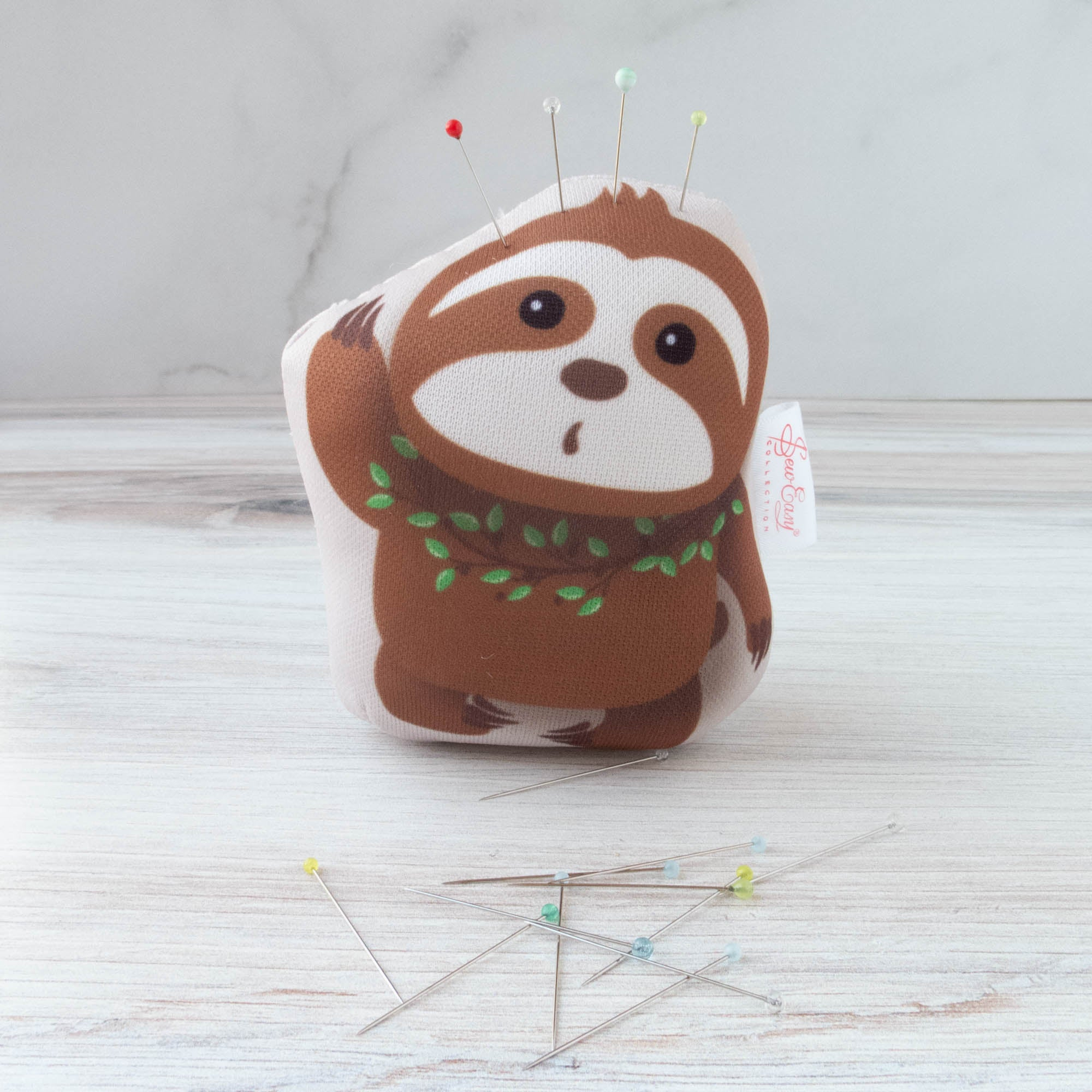Gift for Sloth Fan Sloth Pincushion Sewing Gift Felt Pincushion Sloth Sloth Felt Pincushion Gifts for Friends Pin Cushion