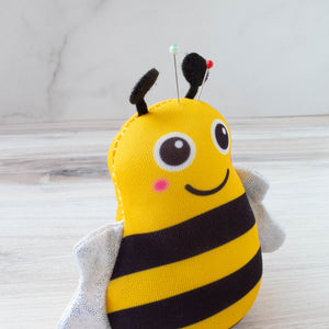 Cute Bee Pincushion Pincushion - Snuggly Monkey