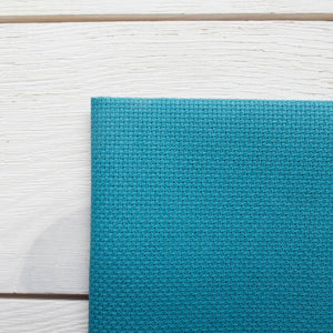 Aida Cross Stitch Fabric - Riviera Aqua (14 ct)