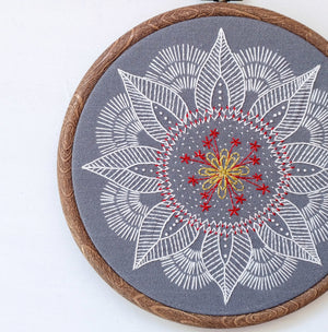 cozyblue Embroidery Pattern :: Autumn Mandala Patterns - Snuggly Monkey