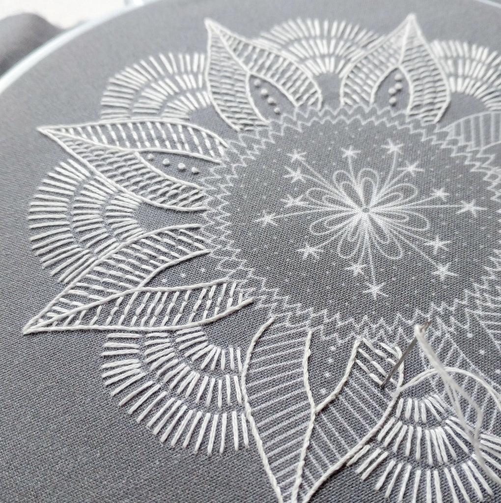 cozyblue Embroidery Pattern :: Autumn Mandala