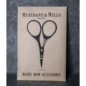 Merchant & Mills Baby Bow Mini Scissors Scissors - Snuggly Monkey