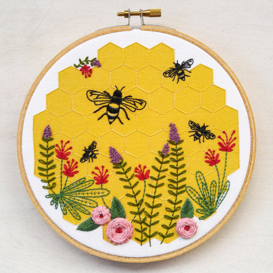 cozyblue Embroidery Kit :: Bee Lovely Patterns - Snuggly Monkey