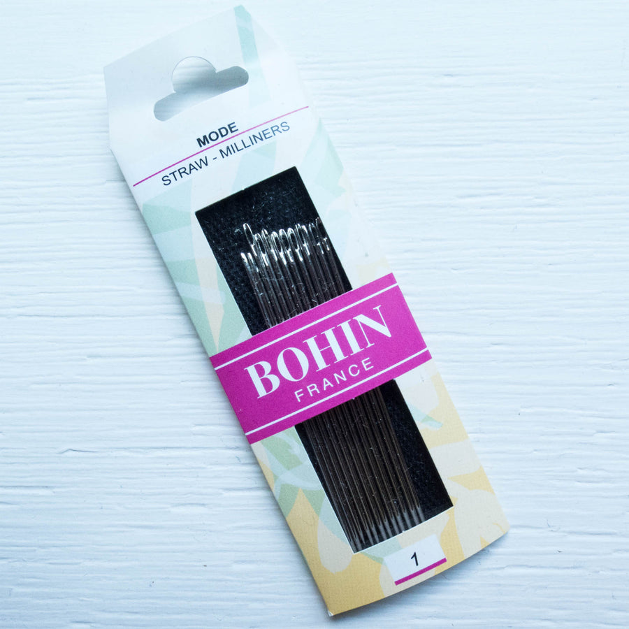 Bohin Milliner Needles Size No. 1 Needles - Snuggly Monkey