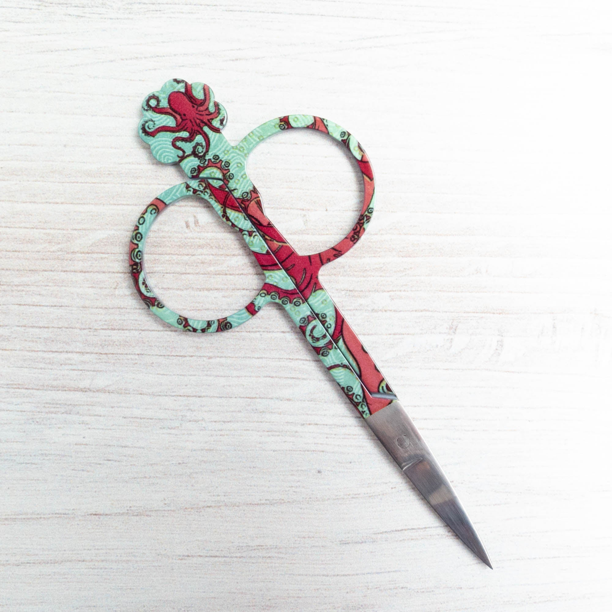 Bohin Embroidery Scissors - Octopus Scissors - Snuggly Monkey